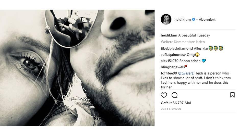 Heidi Klum+Tom Kaulitz: So zelebrieren die beiden ihre Liebe