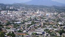 Die Stadt San Salvador in El Salvador