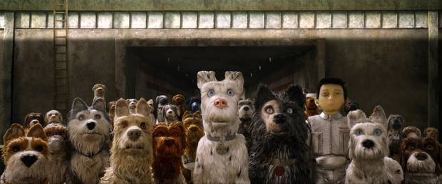 "Eine Szene des Films ""Isle of Dogs - Ataris Reise"""