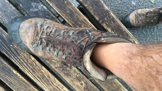 Uli Hauser war erstaunt, wie gut es lief in alten Wanderstiefeln. Mal 20, mal 30, mal 40 Kilometer am Tag. Hauser achtete nicht darauf, und oft war auch das Ziel im Weg