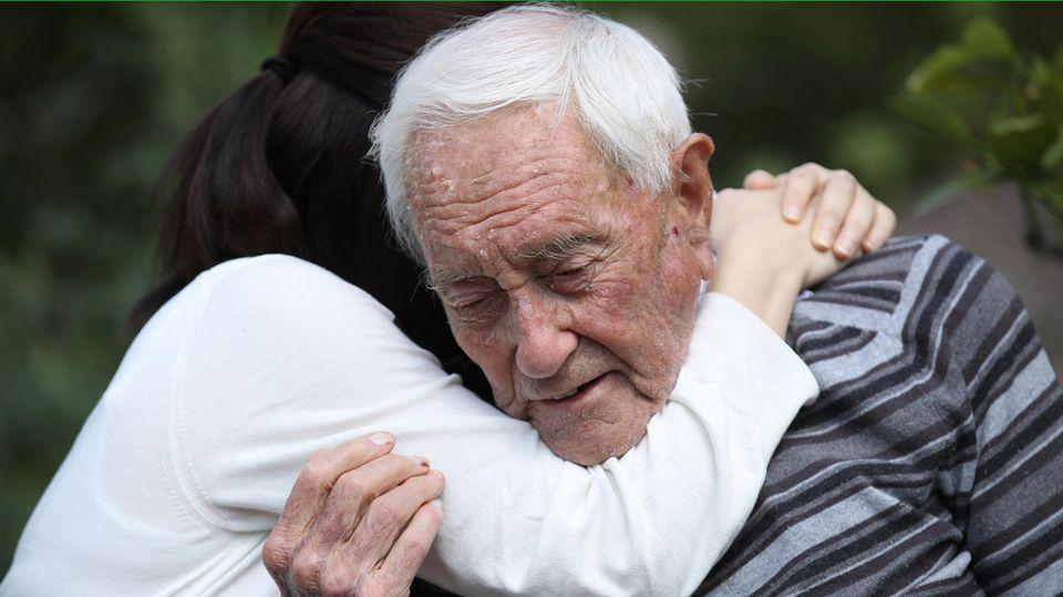 Ist des Lebens Müde: Der 104-jährige Wissenschaftler David Goodall