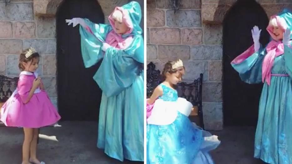 Disney-Kleider überraschen mit einem magischen Spezialeffekt