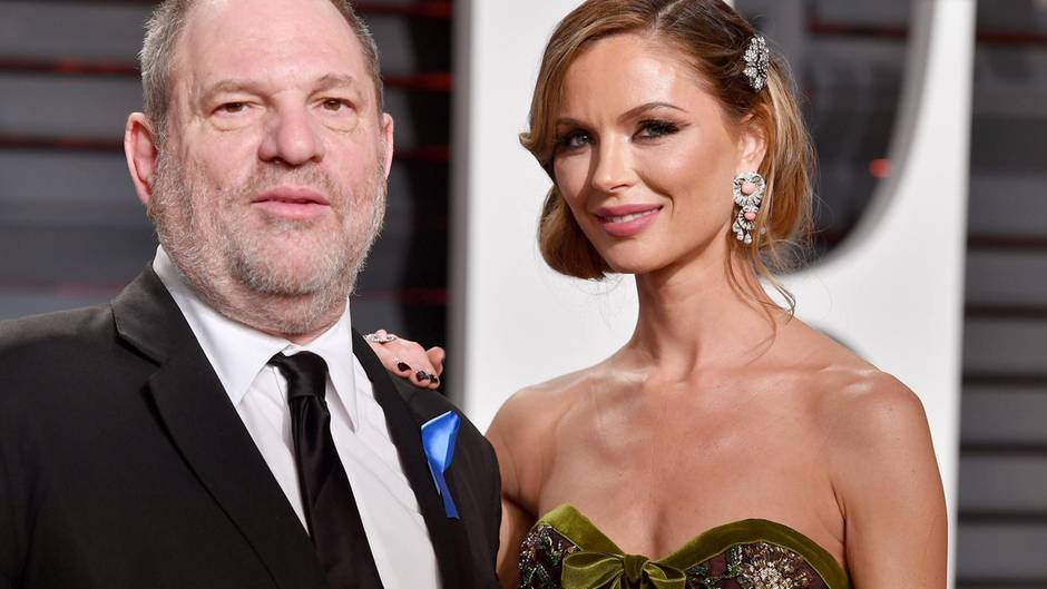 Harvey Weinstein und Georgina Chapman bei der Vanity Fair Oscar Party im Februar 2017