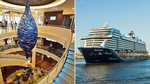 """Krönung der Flotte von Tui Cruises: Die neue """"Mein Schiff 1"""""""