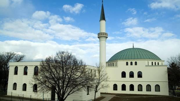 Die Moschee am Hubertusdamm in Wien-Floridsdorf, eine von rund 400 islamischen Gotteshäusern in Österreich