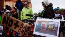 Radfahrer Mexiko