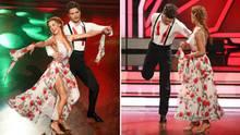 Bela Klentze verletzte sich beim Quickstep mit seiner Tanzpartnerin Oana Nechiti