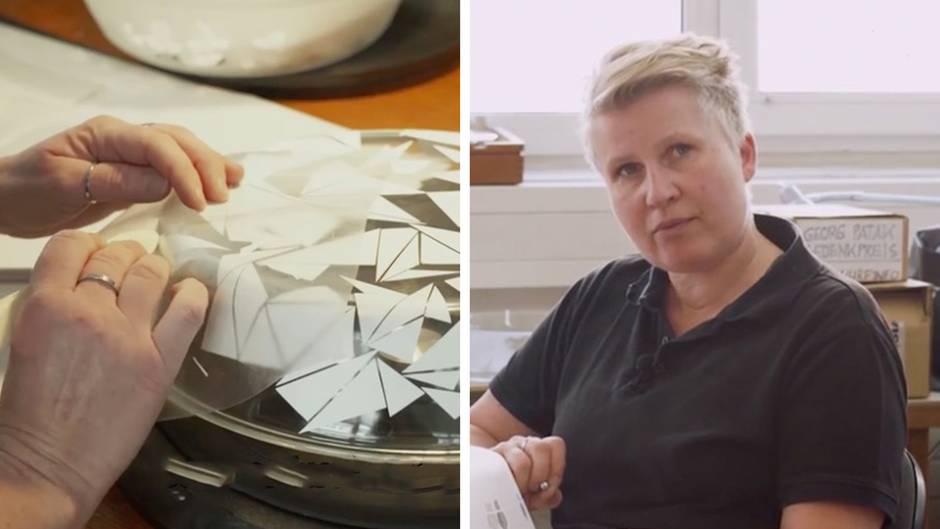 Upcycling aus Wien: Susanne war zweieinhalb Jahre arbeitslos - jetzt macht sie Designerstücke aus Müll