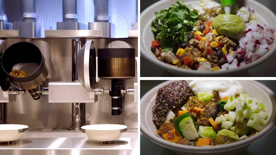 Chefkoch aus Stahl: In diesem Restaurant kochen Roboter Ihr Essen