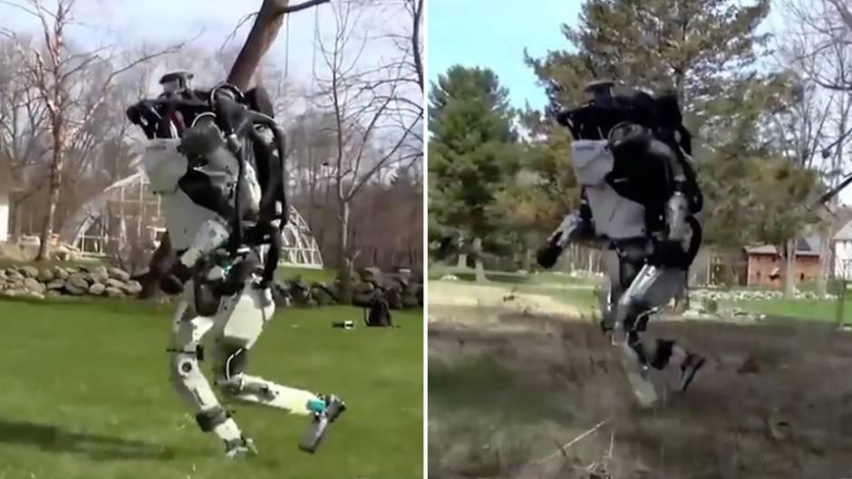 Faszinierende Technik: Gehen, joggen, springen – dieser Roboter trainiert regelmäßiger als viele Menschen