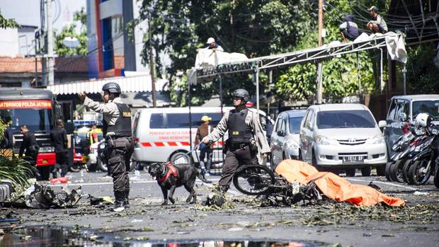 Indonesien Attentate
