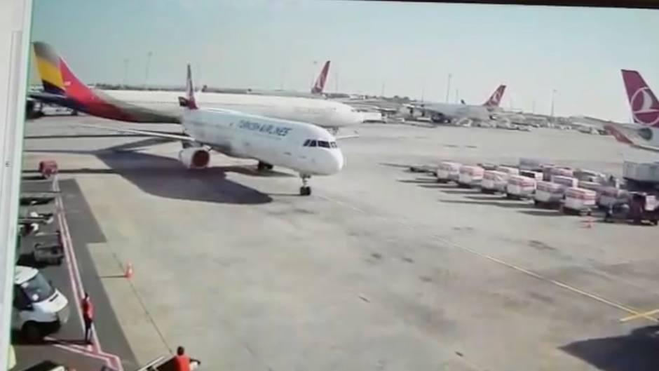 Zwischenfall in Istanbul: Airbus A330 rasiert Leitwerk eines A321 ab