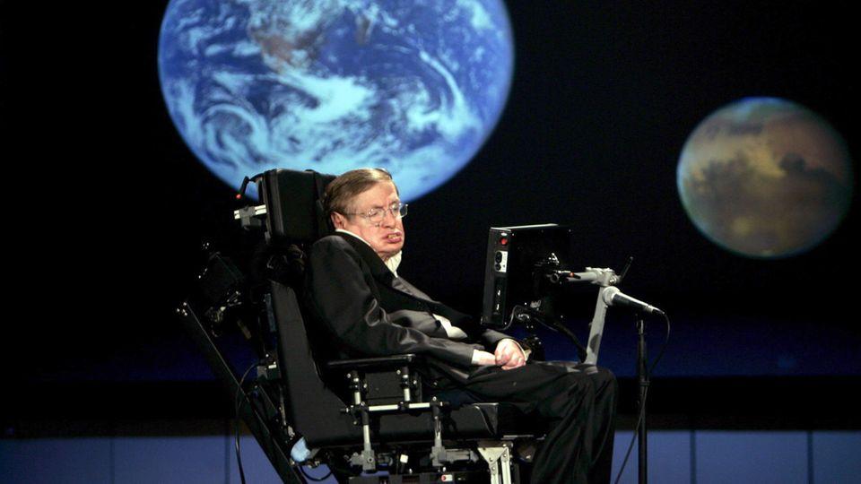 Astro-Physiker Stephen Hawking