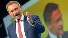 Wird im Moment von vielen Seiten angegangen: FDP-Chef Christian Lindner