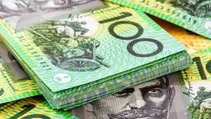 Australische Hundert-Dollar-Scheine