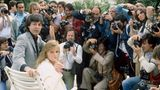 Paul McCartney und seine  Frau Linda 1980