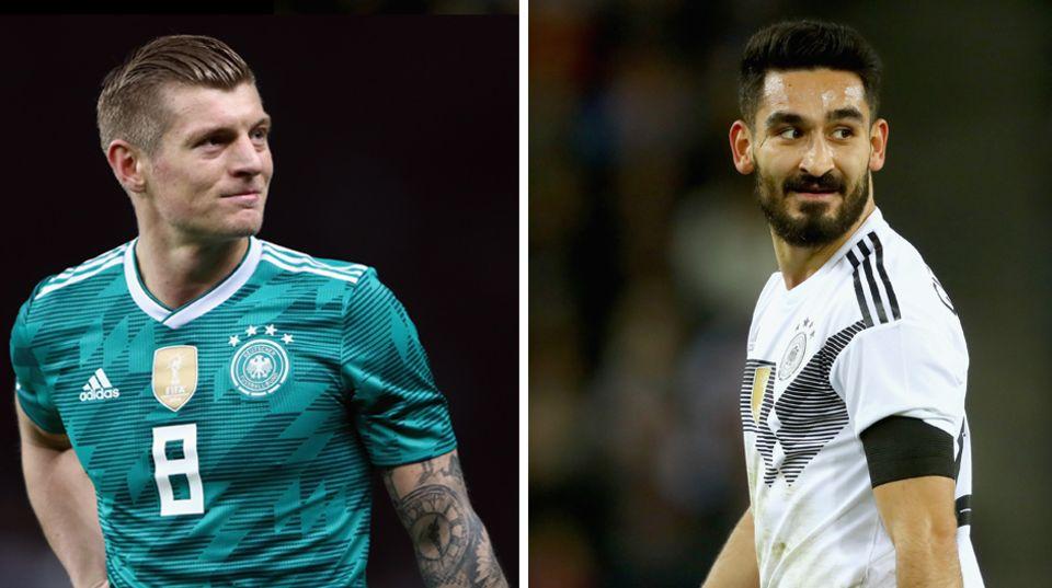 WM Kader - Doppelsechs mit Toni Kroos und Ilkay Gündogan
