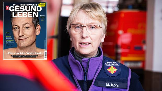 Margarethe Kohl, 60, ist Theologin und seit 2011 hauptamtliche Notfallseelsorgerin in Hamburg und Umgebung. Nach Unfällen, Katastrophen oder Todesfällen bietet sie Angehörigen Unterstützung und leistet erste Hilfe für die Seele.