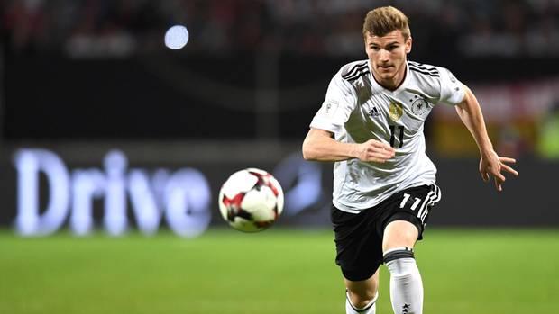 Timo Werner im Sturm für den WM-Kader