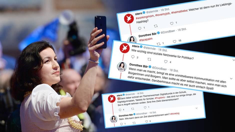 Digitalministerin: Twitter-Interview: Wann gibt es schnelles Internet für alle, @DoroBaer?