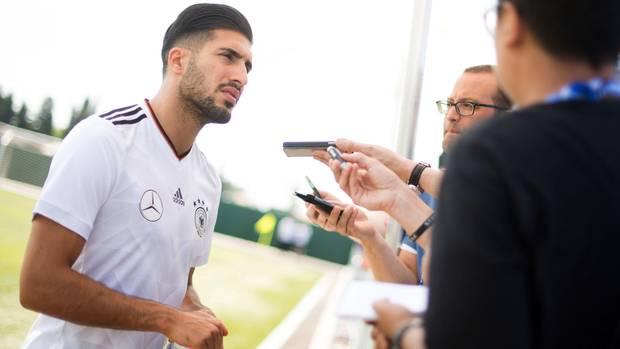 Der deutsche Nationalspieler Emre Can