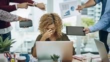 Mittlere Führungskräfte: Stress und Burn-out