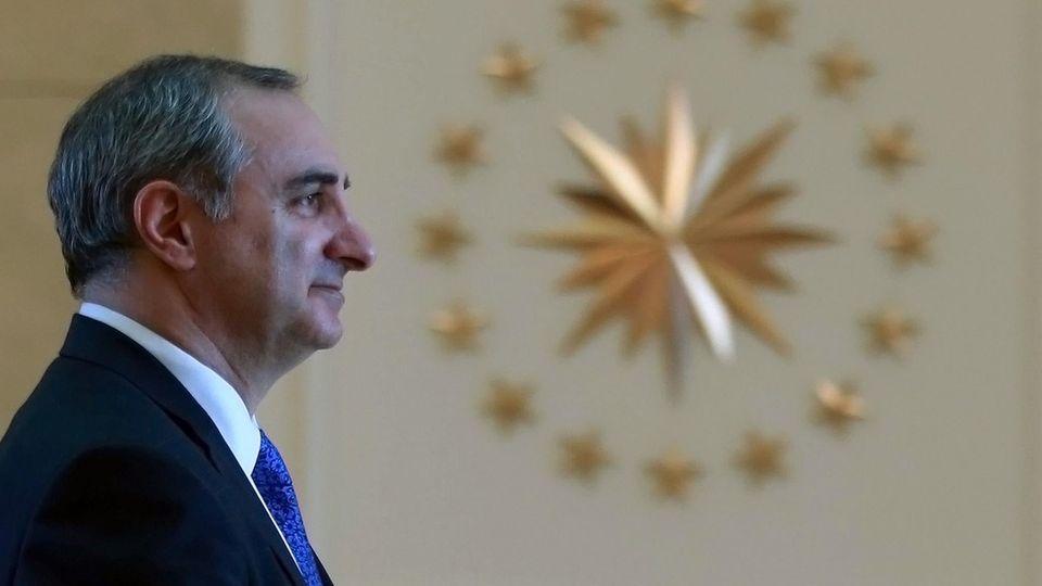 Eitan Naeh ist israelischer Botschafter in der Türkei