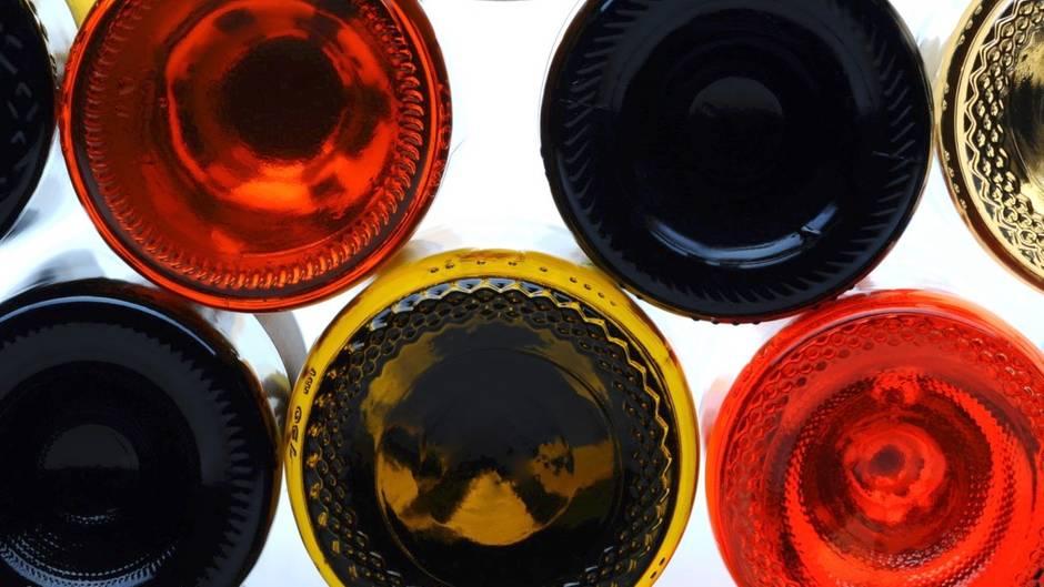 Rätsel gelöst: Warum haben einige Weinflaschen eigentlich eine Delle am Boden?