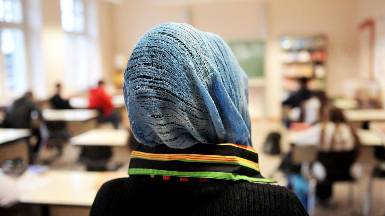Eine Muslima an einer Schule in Nordrhein-Westfalen
