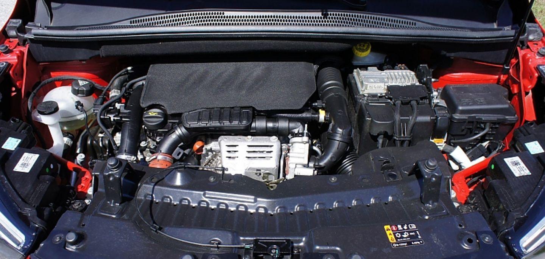 Der 1.2 Liter Dreizylinder geht geschmeidig zu Werke