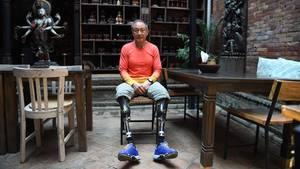 Xia Boyu verlor beim Versuch, den Mount Everest zu erklimmen, beide Füße