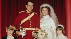 Prinzessin Anne heiratet Mark Phillips