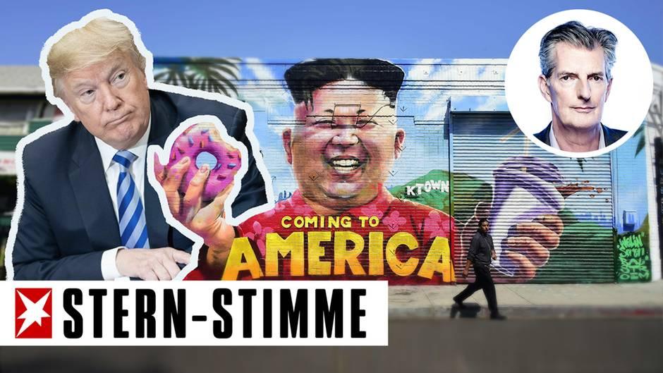 Kommentar von Andreas Petzold: Trump in der Falle? Der US-Präsident im Nordkorea-Poker