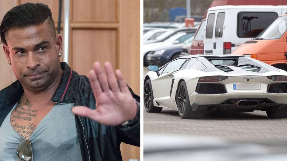 Tim Wiese und sein Lamborghini