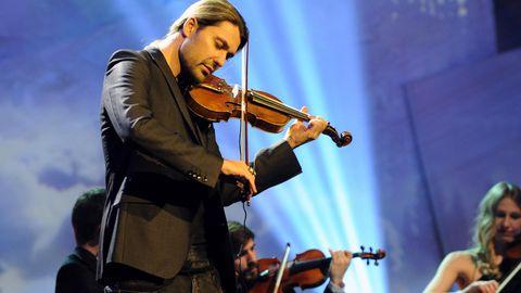 David Garrett während eines Auftritts bei der 23. Jose Carreras Benefiz Gala in München