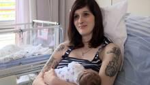 Nach Totgeburt vor drei Jahren: Tanja (26) ist jetzt glückliche Mutter eines gesunden Mädchens.