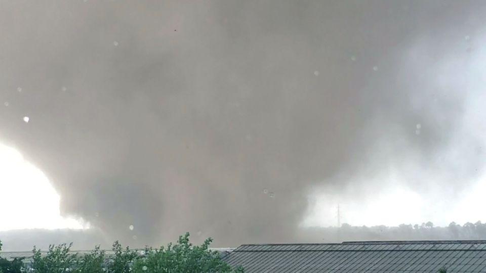 Tornado in Schwalmtal bei Mönchengladbach