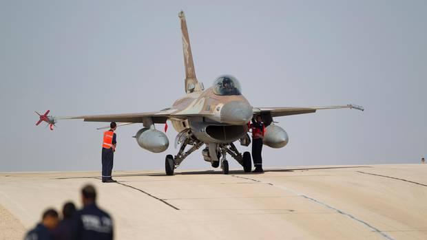 Kampfjet der israelischen Luftwaffe