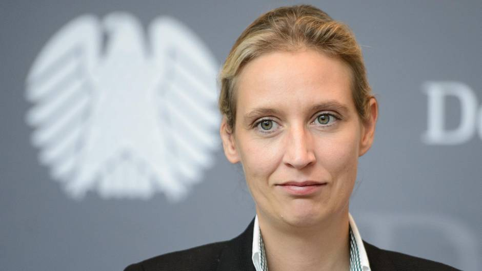 AfD-Fraktionschefin Alice Weidel