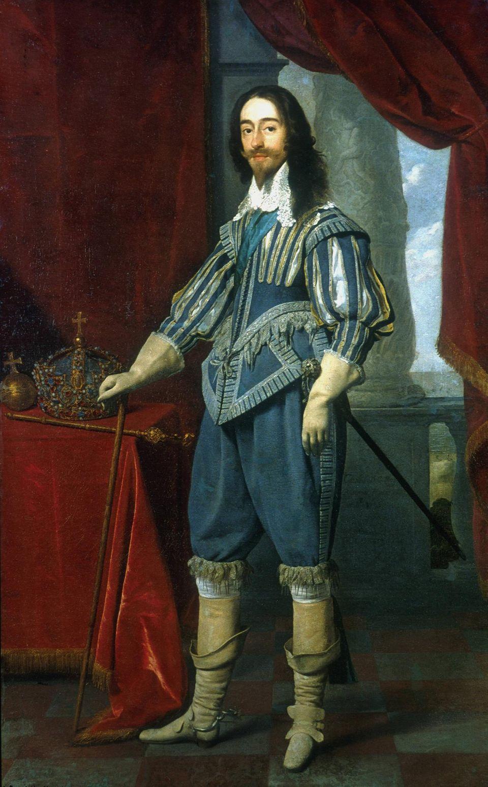 Charles I. wurde 1649 nach kurzem Prozess enthauptet