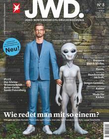 Cover der dritten Ausgabe JWD.