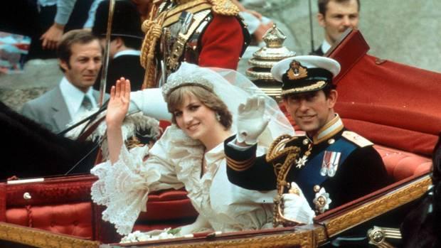 Die Hochzeit von Charles und Diana 1981