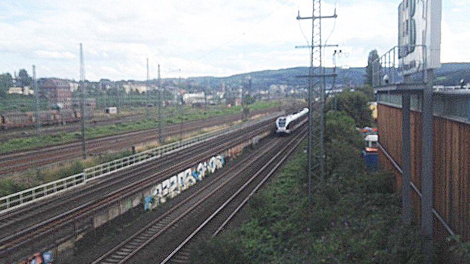 Fall Martin Bach - die Bahngleise
