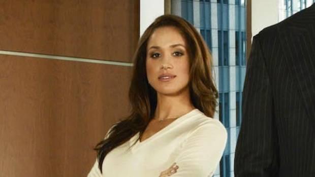 "Meghan als Anwaltsassistentin in der TV-Serie ""Suits"""