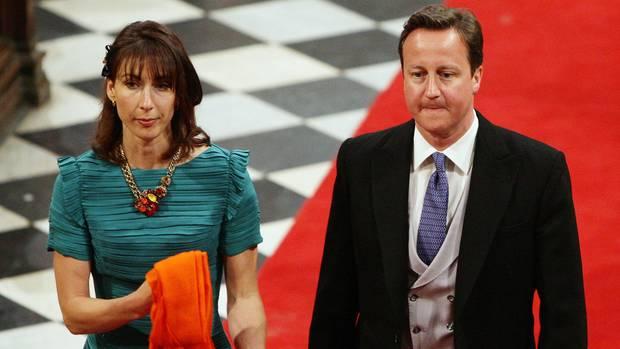 Samantha und James Cameron bei der Hochzeit von Prinz William und Kate