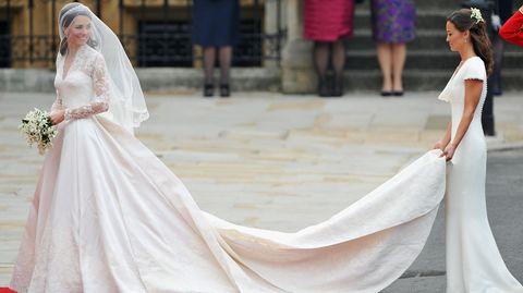 Dass Pippa Middleton bei der Hochzeit ihrer Schwester Kate 2011 ein weißes Kleid trug, ist eigentlich ein absolutes No-Go