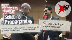 Erdogan mit deutsch-türkischen Fußballern