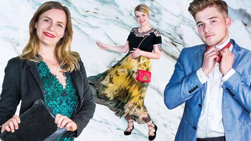 Die NEON-Redaktion präsentiert ihre Hochzeits-Outfits