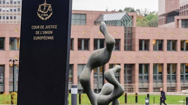 Das Gelände vom Gerichtshof der Europäischen Union (EuGH) in Luxemburg