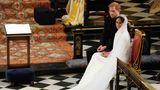 """""""Was Gott zusammengeführt hat, soll der Mensch nicht trennen"""", sagte der Erzbischof von Canterbury, der Harry und Meghan traute"""
